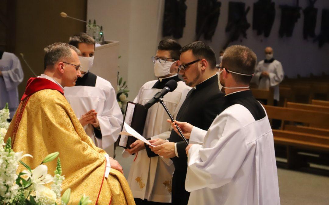Śluby uroczyste oraz święcenia diakonatu al. Aliaksandra Hetsevicha