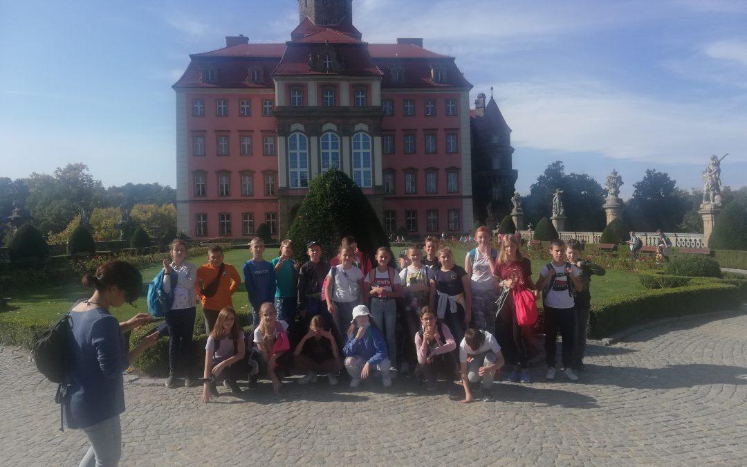 Klasa 5b na wycieczce w Wałbrzychu i okolicach