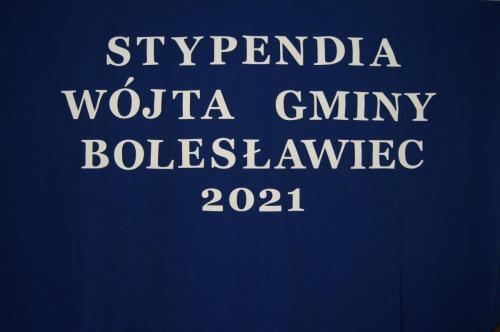 Gala rozdania Stypendiów Wójta Gminy