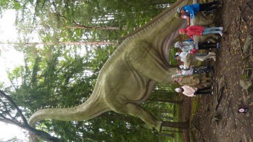 Wycieczka klas trzecich do Dinoparkuch
